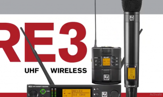 RE3 UHF wireless microphone product family