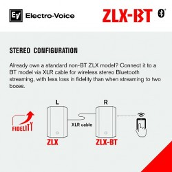 "ZLX-15BT 15"" Powered Loudspeaker with Bluetooth® Audio*"